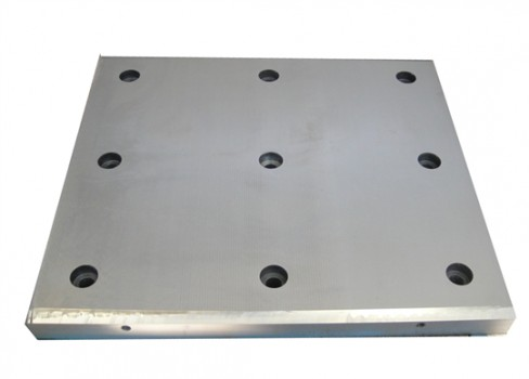 Composite Sliding Plate Of Rolling Mill Stand (housing Frame)