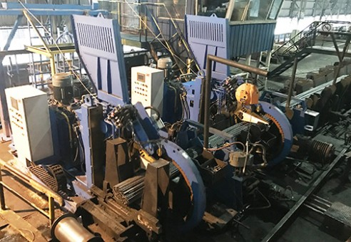 Single-track Bar bundling Machine
